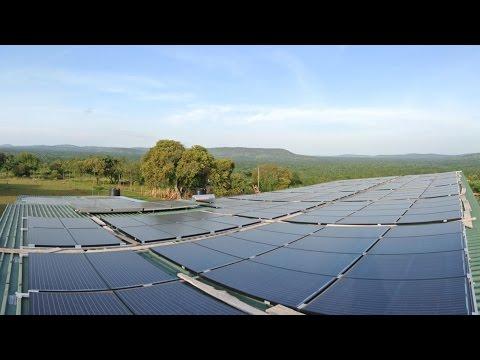 Photovoltaik für Afrika - Teil 2: Solaranlage ist installiert und läuft!