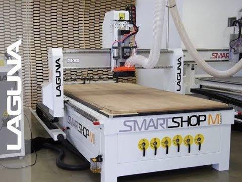 Laguna Tools Presenta el Enrutador CNC SmartShop M