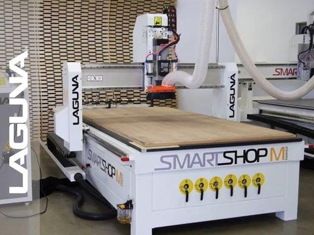 Laguna Tools Presenta el Enrutador CNC SmartShop M | Laguna Tools