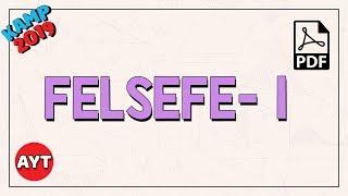 Felsefe 1  TYT - AYT
