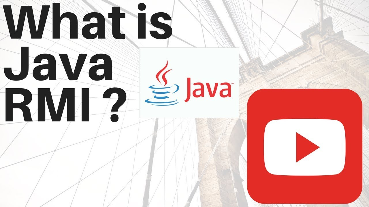 Java youtube tutorial image collections any tutorial examples java rmi tutorial pdf image collections any tutorial examples remote method invocation in java youtube remote baditri Choice Image