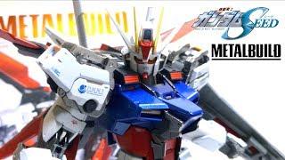 【機動戦士ガンダムSEED】メタルビルド エールストライクガンダム ヲタファの遊び方レビュー / METAL BUILD Aile Strike Gundam