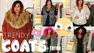 PLUS SIZE TRENDY COATS YOU NEED THIS SEASON + TRY ON    FALL 2016 Mp3