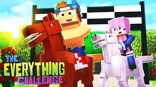 HORSE RACING WITH LIZZIE!? | The Everything Challenge w/LDShadowLady #8