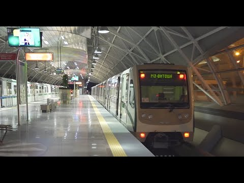 Bulgaria, Sofia, Metro night ride from Airport to Serdika ( 1 of 2 )
