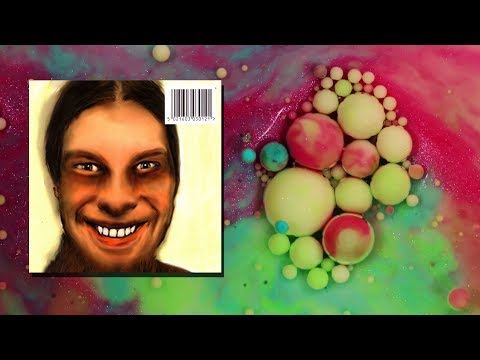 A satisfying video, but with music from the album '...I Care Because You Do' by Aphex Twin