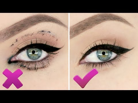 How to STOP Eyeliner & Mascara Smudging | STEPHANIE LANGE
