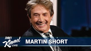 Martin Short on Only Murders in the Building with Selena Gomez & Steve Martin and Becoming a Grandpa