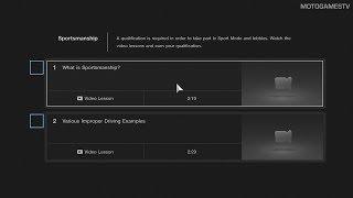 Gran Turismo Sport - Racing Etiquette