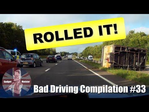 Bad Drivers UK Dash Cam Compilation #33