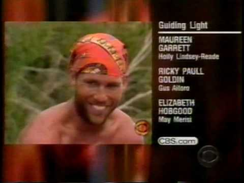 March 2001 - 'Guiding Light' Closing Credits