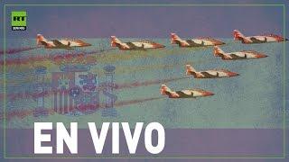 Desfile militar en Madrid por el Día de la Fiesta Nacional [EN VIVO]