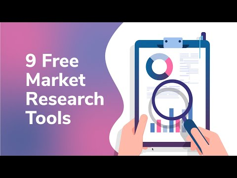 9 Free Market Research Tools you should be using in 2021