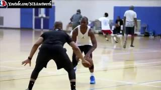 James Harden + CP3 Grinding on Labor Day! [IG@jharden13]