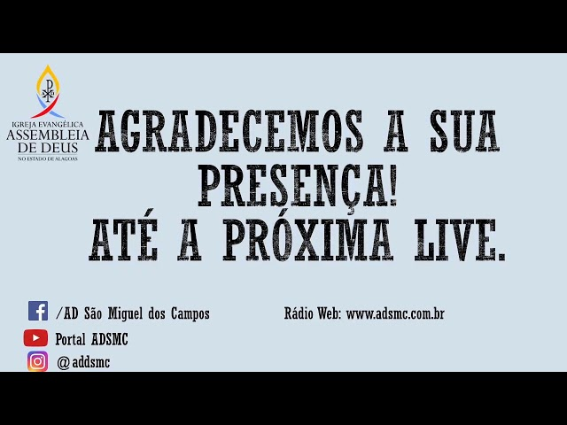 Programa A VOZ DA ASSEMBLEIA DE DEUS (5ª EDIÇÃO) - 14/10/2020
