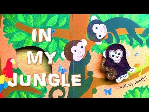 In My Jungle (Board book) | Read aloud by little girl Clover