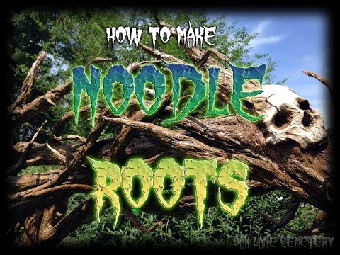 How to Make Noodle Roots