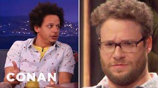 Eric Andre & Conan Prank Call Seth Rogen  - CONAN on TBS thumbnail