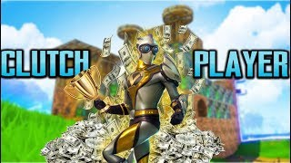 I Am Clutch When The Money Is On The Line!!! - Fortnite Battle Royale