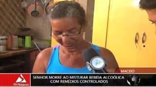 SENHOR MORRE AO MISTURAR BEBIDA ALCOÓLICA COM REMÉDIOS CONTROLADOS