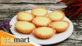 Hướng dẫn làm bánh Tart phomai - BEEMART