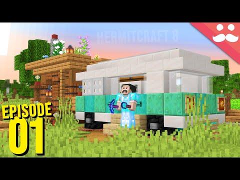 Hermitcraft 8: Episode 1 - LET'S GO!