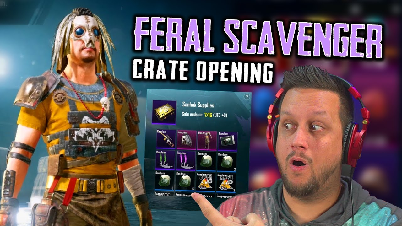 I FOUND THE FERAL SCAVENGER CRATES!
