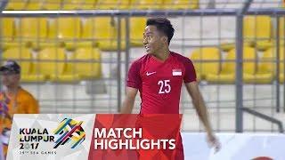 Gambar cover Football ⚽ match highlights: Singapore 🇸🇬 vs Brunei 🇧🇳 | 29th SEA Games 2017