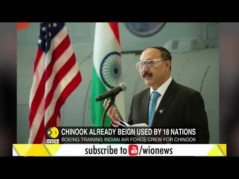 First Chinook helicopter handed over to India at Boeing's facility in Philadelphia