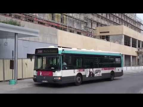 d part et arriv e d 39 irisbus agora line d part de renault agora s v2 vitry sur seine by. Black Bedroom Furniture Sets. Home Design Ideas