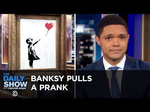 The U.N. Issues an Alarming Climate Report & Banksy Shreds H