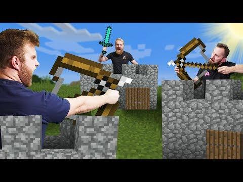 Build Your Base Battle! | Minecraft