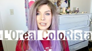 COLORED MY HAIR PURPLE | Chelsea Sadler