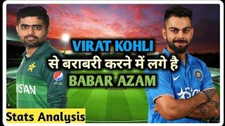 VIRAT KOHLI VS BABAR AZAM || STATS ANALYSIS || SPORTIYAPA