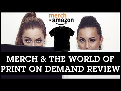 Merch by Amazon Books: Merch and the World of Print on Demand by Jacob Topping [BOOK REVIEW]