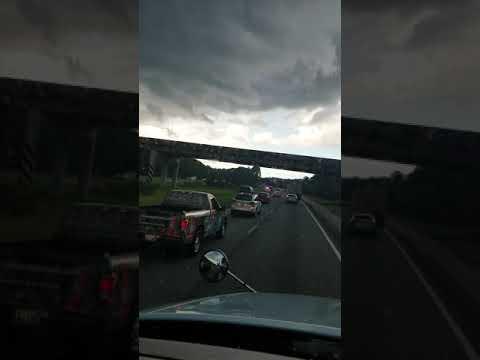 Ford truck rollover in hardeeville south Carolina
