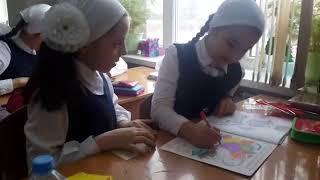 Урок труда в 4з классе Гимназии 1  г.Грозного 29 января 19г.