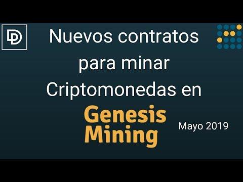 Nuevos Contratos Para Minar Criptomonedas En Genesis Mining [Mayo 2019]