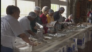 Churches of Christ host 'Feed the Hungry' event