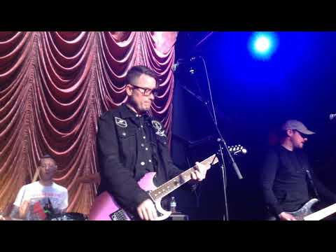 Hawthorne Heights Live at The Foundry Philadelphia 4/24/2018