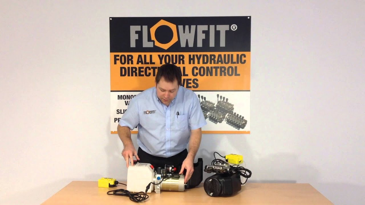 how to wire flowfit double acting single acting hydraulic power units [ 1280 x 720 Pixel ]