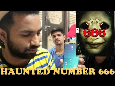CALLING HAUNTED NUMBER 666 | VJ PAWAN SINGH