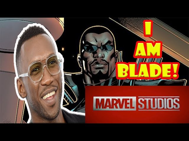 SDCC News! Mahershala Ali joins the MCU as the new Blade!