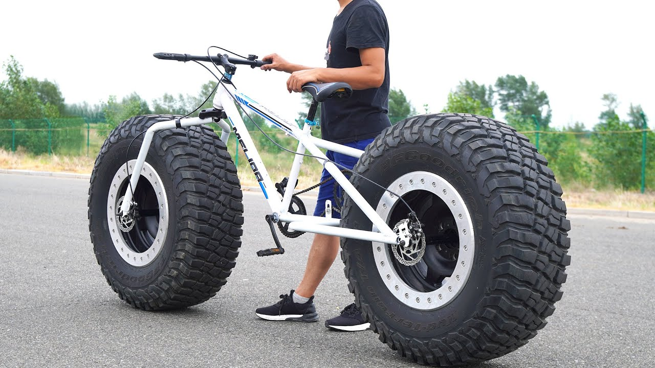 How to Make Bigfoot bike/Fatbike