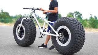 How to Make Bigfoot bike/Fatbike