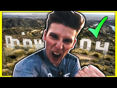 EPIC HIKE TO BEHIND THE HOLLYWOOD SIGN!😍