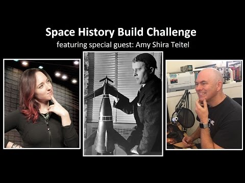 Space History Build Challenge with Amy Shira Teitel