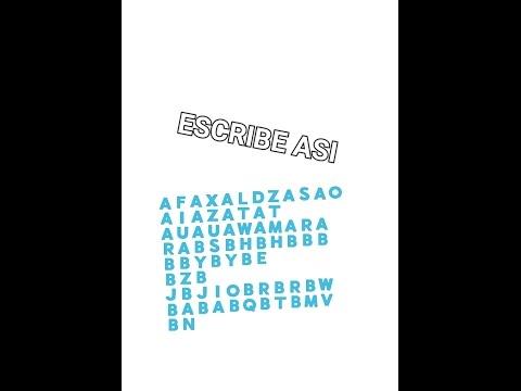 Como escribir con letras azules  🇦🇸🇮 Para Android / IOS x  Macflay 