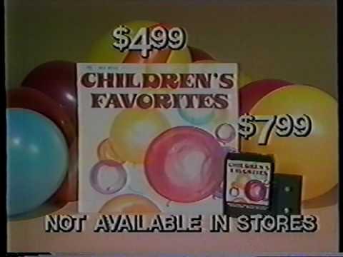 Children's Favorites album commercial