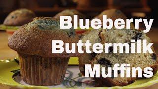 Blueberry Buttermilk Muffins Recipe - LeGourmetTV